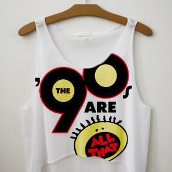90's are All That Crop Top | fresh-tops.com