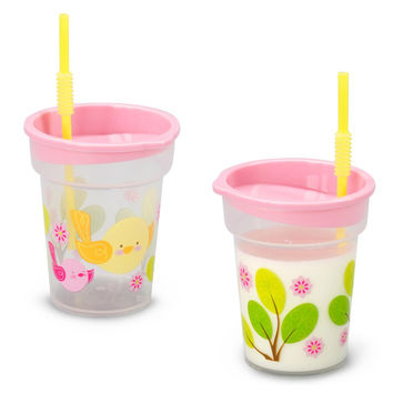 Sweet Tweet Bird Pink Tumbler