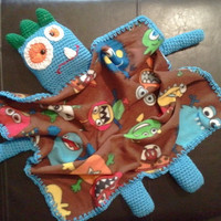 Monster Buddy Blanket