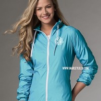 Monogrammed Water Resistant Lightweight Jacket | Outerwear | Marley Lilly