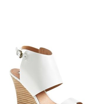 Women's Halogen 'Clarette' Suede Wedge Sandal,