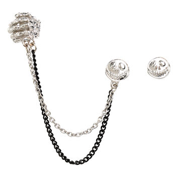 The Nightmare Before Christmas Jack Stud And Chain Ear Cuff | Hot Topic