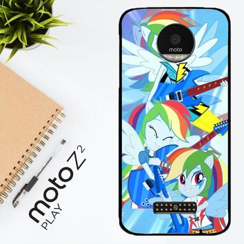 Rainbow Dash Rock R0173 Motorola Moto Z2 Play Case