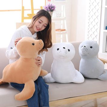 Sea Lion Giant Stuffed Animal Plush Toy 24""