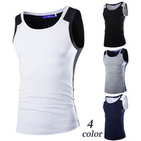 Summer New Color Contrast Tank Top