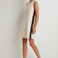 Side-Striped Shift Dress