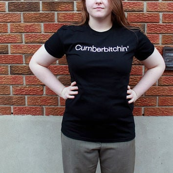MEDIUM: Cumberbitchin' T-Shirt - Tee  - Sherlocked - Benedict Cumberbatch