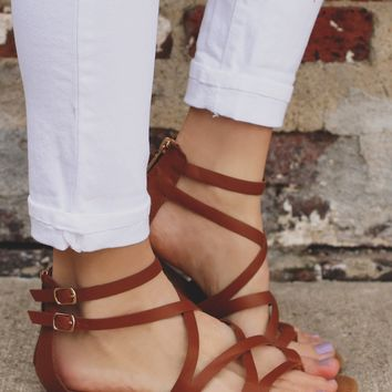 Sea Swept Sandal - Whiskey