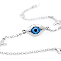 Greek Evil Eye Bracelet for Protection Against the Evil Eye