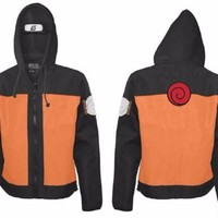 Naruto shippuden - Naruto Costume Adult Zip Up Hoodie