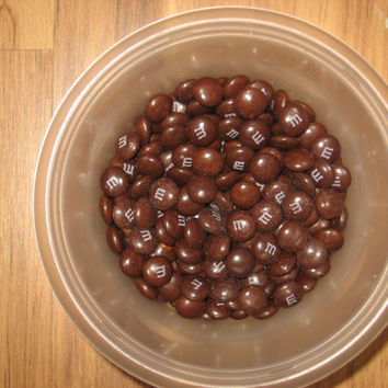 One pound of brown M&Ms FREE SHIPPING!!