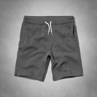 soft fleece shorts