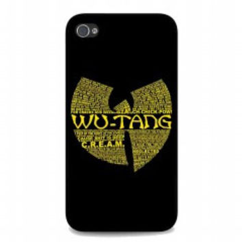 Wu Tang Clan Logo for iphone 4 and 4s case