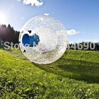 Amazing Inflatable Zorb Sphere.