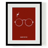 Harry Potter Minimalist Poster Printable Download