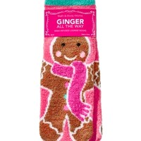 Shea-Infused Lounge Socks Ginger All The Way