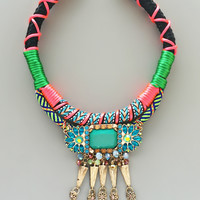 Secret Getaway Statement Necklace