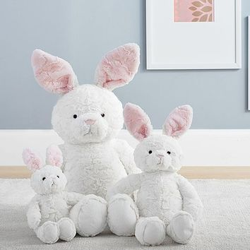 White Bunny Plush