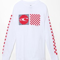 O'Neill Stateside Long Sleeve T-Shirt - Mens Tee - White