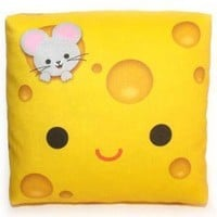 Mini Happy Cheese Pillow