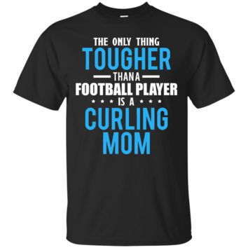 Tougher Than A Football Player Is A Curling Mom