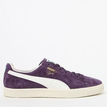 puma clyde premium core purple shoes at pacsun com  number 2