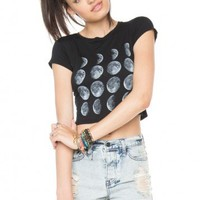 Brandy ♥ Melville | Carolina Moon Phase Top - Graphics