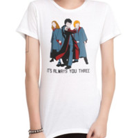 Harry Potter Trio Girls T-Shirt