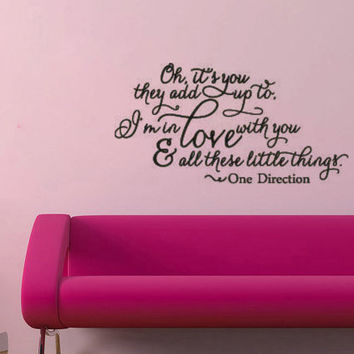 best lyrics wall decals products on wanelo personalised song lyric vinyl wall sticker contemporary