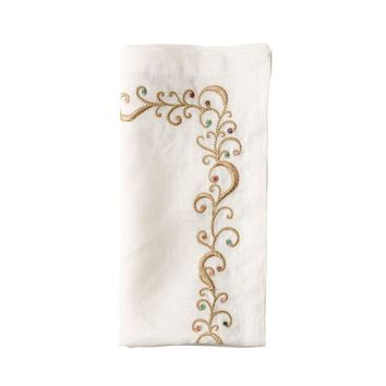 Ritz Napkin | Gold & Multi