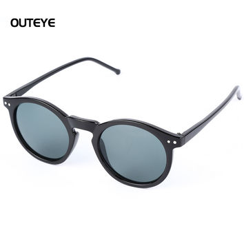 2017 Retro Vintage Men Women Cateye Shades Sunglasses Fashion Eyewear Brand Designer Mirror Sun Glasses Matte Frame Sunglasses