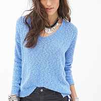 FOREVER 21 Classic Slub Knit Sweater