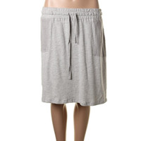 Halogen Womens French Terry Knit Skirt