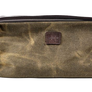 Waxed Canvas Utility Case