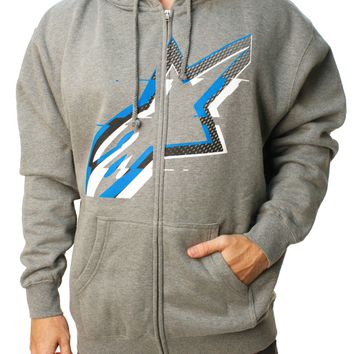 Alpinestars Men's Glitch Zip Fleece Full Zip Hoodie