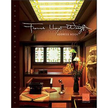 Frank Lloyd Wright Deluxe Address Book
