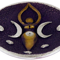 Ceramic Celestial Goddess - Incense Burner