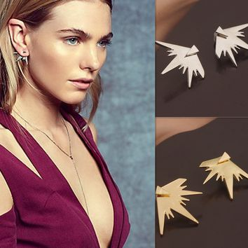 Fashion Clip on Earring Clips, Simple Back Earrings Studs