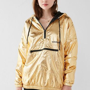 adidas Originals Golden Windbreaker Jacket | Urban Outfitters