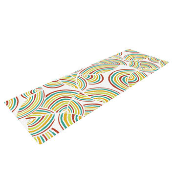 "Pom Graphic Design ""Rainbow Sky"" Yoga Mat"