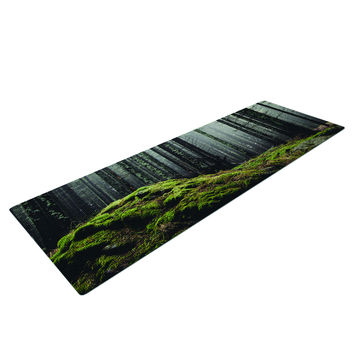 Mossy Forest Woods Trendy Yoga Mat