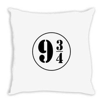 Harry Potter Train 9 3:4 Throw Pillow