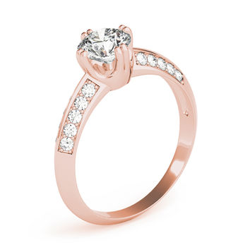 European Engagement Ring - - ERES107RG