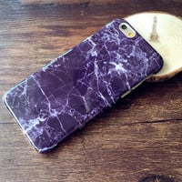 Retro Marble Case Cover for iPhone 5s 6 6s Plus Gift-156