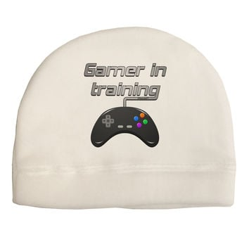 Gamer In Training Color Child Fleece Beanie Cap Hat