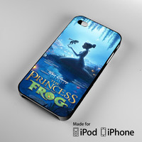 princess tiana and frog iPhone 4S 5S 5C 6 6Plus, iPod 4 5, LG G2 G3, Sony Z2 Case