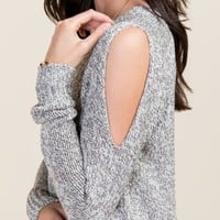 Cyndi Bare Back Sweater
