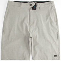 Billabong Crossfire X Mens Hybrid Shorts - Boardshorts And Walkshorts In One Grey  In Sizes