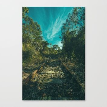 Abandoned Canvas Print by Mixed Imagery