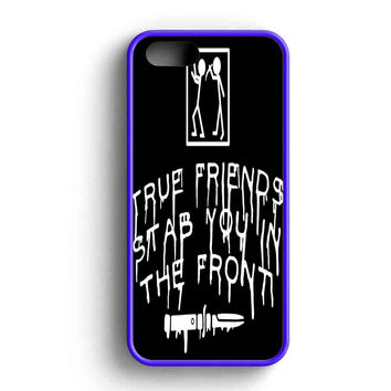 Bring Me The Horizon True Friends Stab You In The Front Stab Illustrations iPhone 5 Case iPhone 5s Case iPhone 5c Case